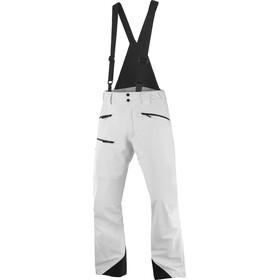 Salomon Outlaw Pantalones Shell 3 Capas Hombre, blanco